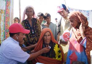 パキスタン洪水支援 中部・南部でも医療支援を行っています