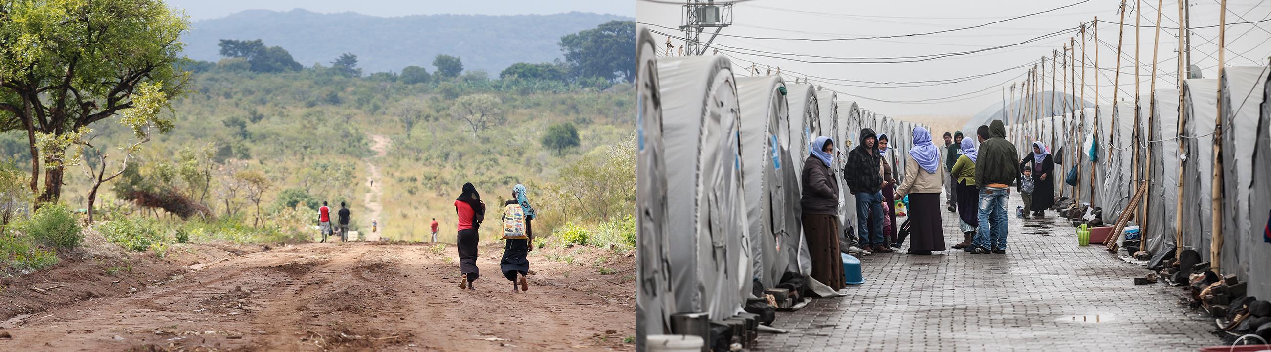 世界の難民・国内避難民は今