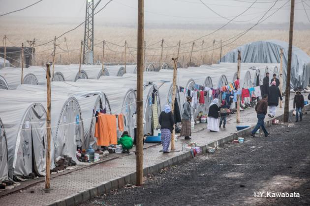 トルコの難民キャプ
